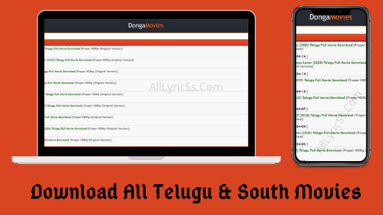 Dongamovies Download all Telugu & south movies & Tv shows