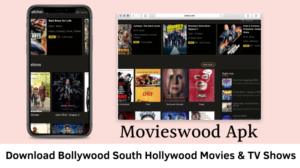 movieswood Apk download all latest movies